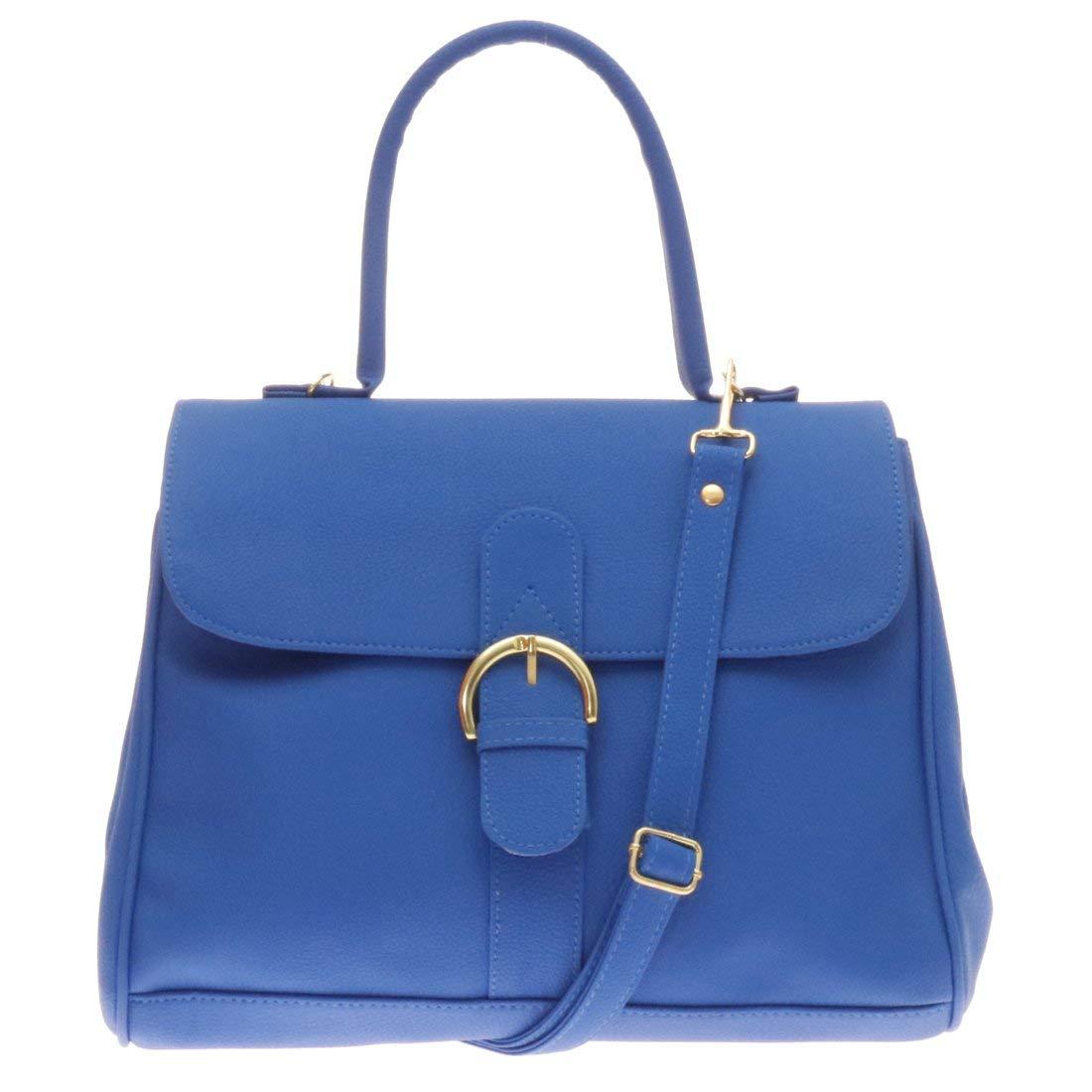 e3e1b0b31d Twinya Women s PU Leather Satchel Handbags Shoulder Bag Beautiful Top  Handle Satchel with Adjustable Straps