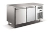 2 door stainless steel under counter refrigerator for 1/1 GN pan model P14D7C2