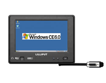 "LILLIPUT 7"" Rugged tablet Touch PC with WinCE 6.0/Linux 2.6.32 with IP64"