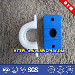 Plastic coupling collet