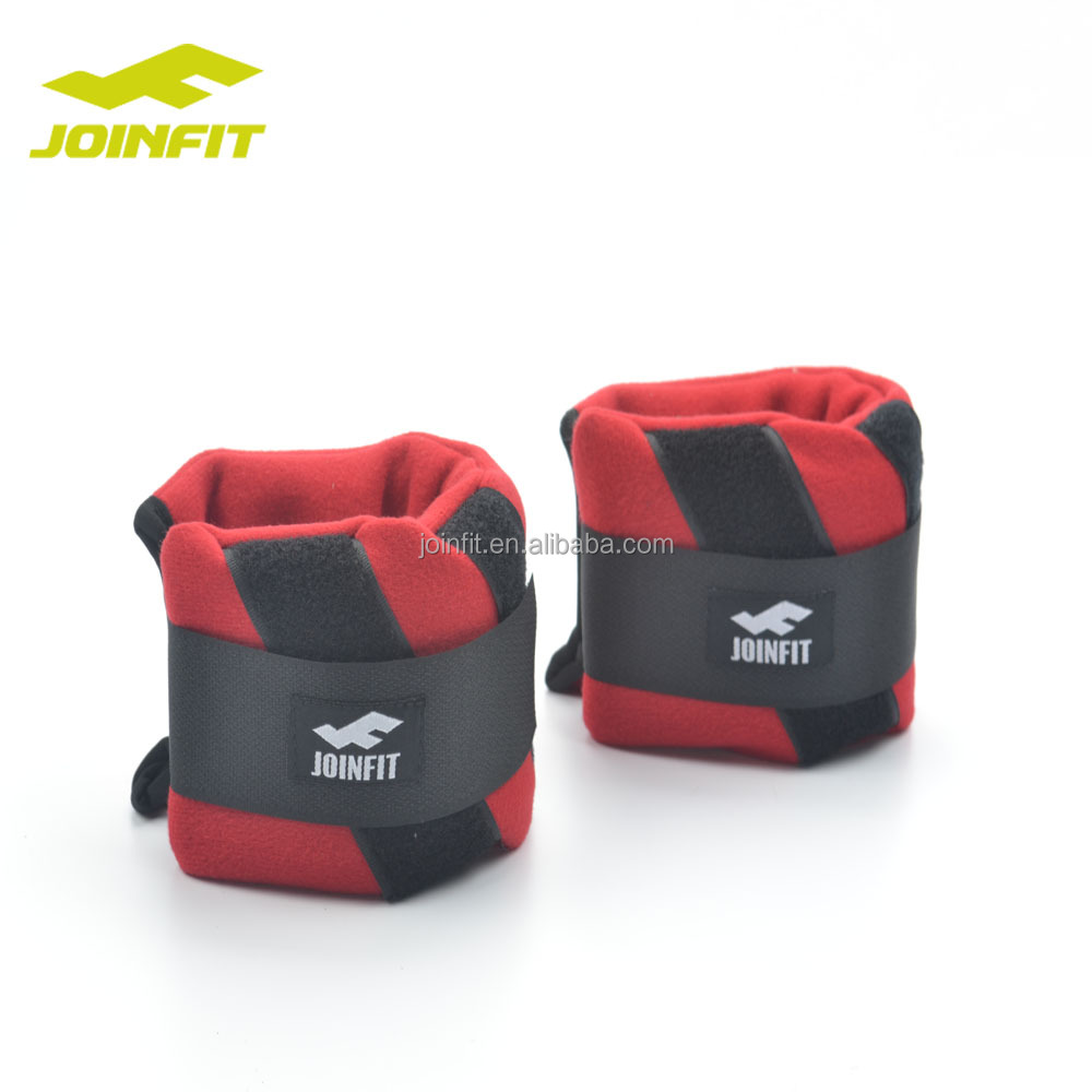 JOINFIT Soft Rubber Ankle Sandbag Weight/New Style Sand Ankle and Wrist Weight