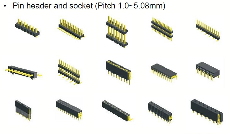 2 rows 16 Pin B Type Eurocard Connector Right Angle Male DIN 41612 Connector