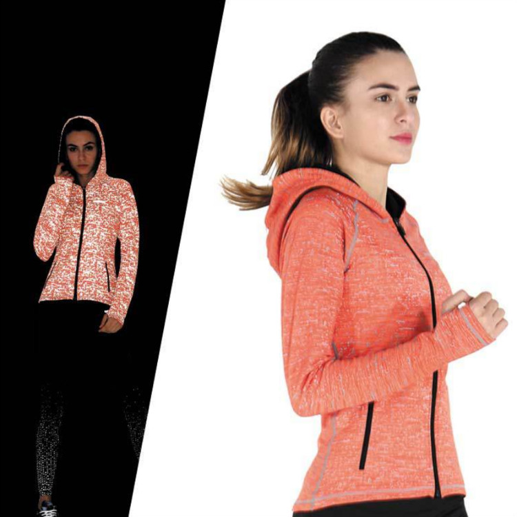 Fitness Yoga Wear Custom Sports Jacket Womens Long Sleeve Running Jacket