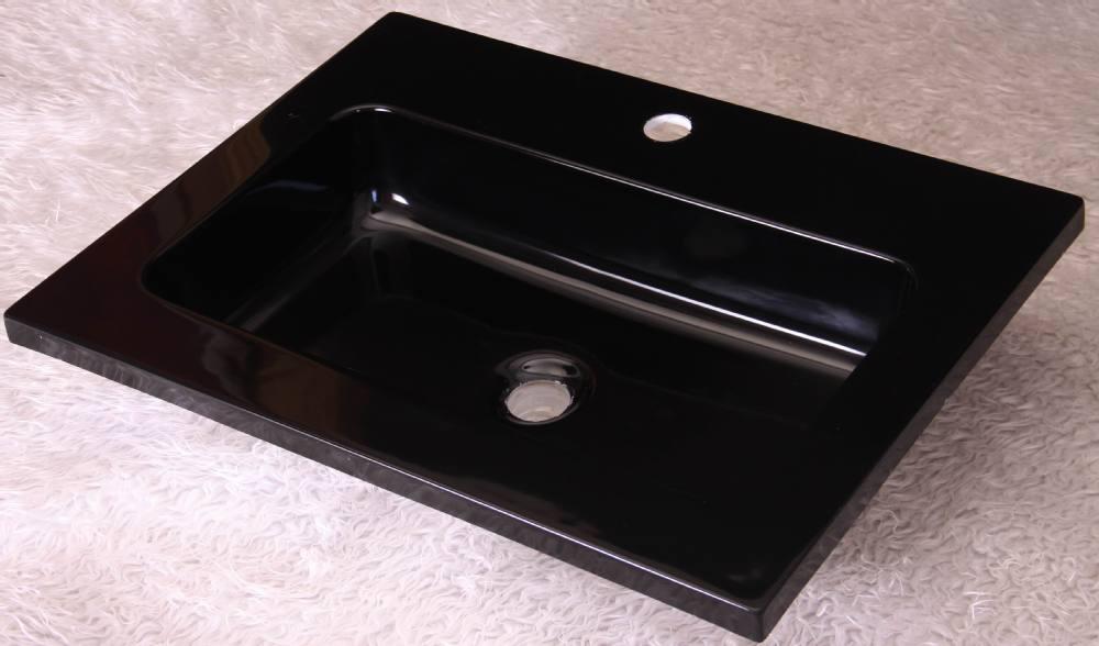 Badkamer Wastafel Kast : Domo europese ontwerp acryl zwarte kast wastafel badkamer wastafel