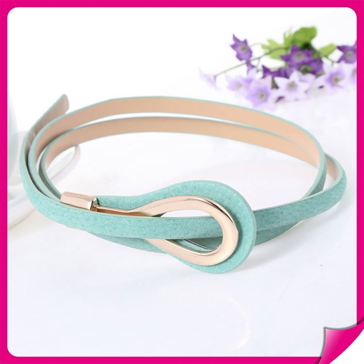 New Eco-friendly women knitted belt for garment decorate