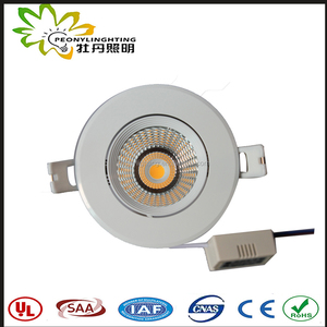 SAA/TUV GS certificated triac dimmable 8W-35W LED downlight