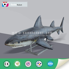 Tamaño Real del animal de mar simulación robot shark