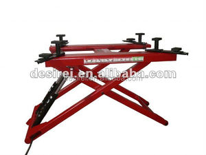 Fast Repair Tyres Mid-rise Mini Movable Scissor Car Lifts For Vans