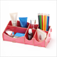 Mini Cute DIY Assedmbled Tabletop Wood Storage Organizer Drawers For Cosmetic