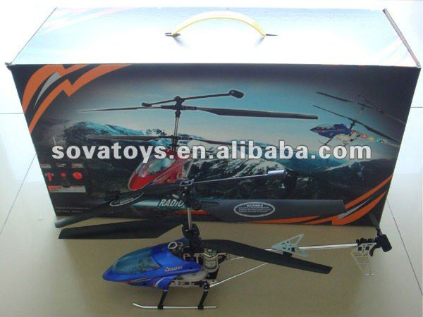 902040489-3 channel rc metal alloy aircraft