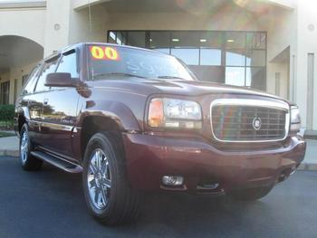 Used 2000 Cadillac Escalade Suv Export World Wide - Buy Used ...