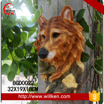 Outdoor decorative animal head chinese garden decoration for sale