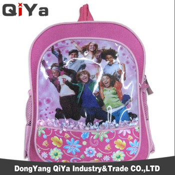 China Suppliers Wholesale Cute Lace Cartoon Printing Students Backpack Kids School  Bags For Girls 4565f898f2544