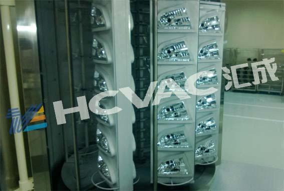 Automobile PC Lens Vacuum Metallizing Machine BMC Headlamp Reflector PVD Coating Equipment