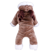 Christmas cute pet gift autumn and winter transfiguration sweaters dog decoration clothes
