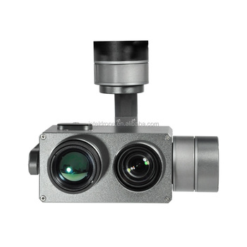 Drone/UAV camera Gimbal payload 10x zoom camera Optical and Thermal camera with tracking function