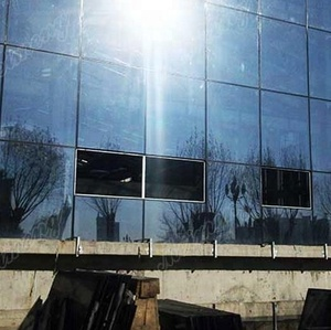 Office Building Windows Tempered Glass/Mirror Glass Curtain Wall