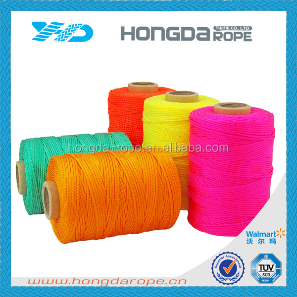 #18 polypropylene polyester nylon mason line nylon coloured twine