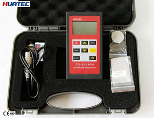 China Manufacturer Easy Operation Digital Paint Tin coating thickness gauges meter tester TG8831FN