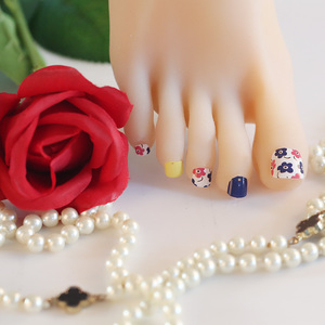 High quality Toe nail stickers Nail art nail decoration for girl