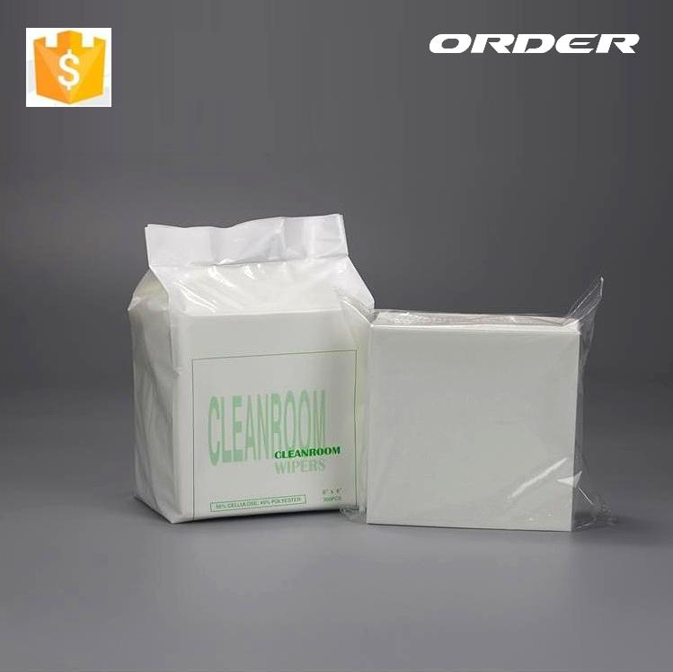 Cleanroom white cleaning non woven microfiber industrial roller wiper