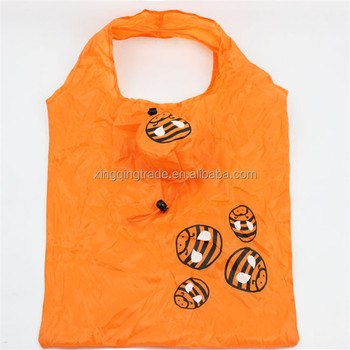 Foldable Polyester Shopping Bag Environmental Protection Cartoon Printing Animal Prints Bee Special Purpose Bags