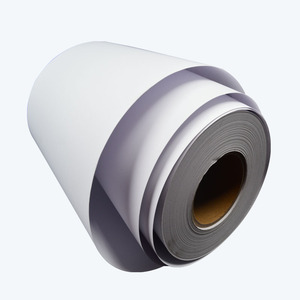 Wholesale Bulk Semi Gloss Self Adhesive Sticker Printer Paper Roll Or Sheet For Bar Code