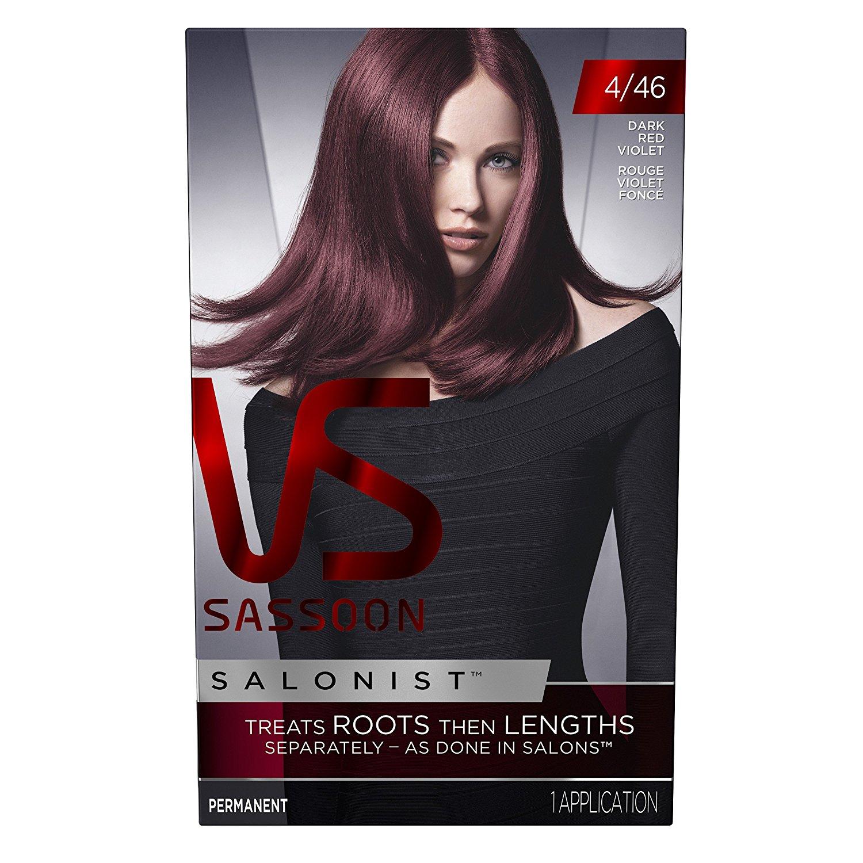 Buy Vidal Sassoon Salonist Hair Colour Permanent Color Kit 446