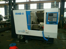 Slant Bed CNC Lathe-Milling Machine CK46D-8