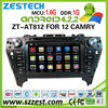 "ZESTECH hot sale Android car dvd for TOYOTA CAMRY android 4.4 car dvd with 8"" capacitive touch screen gps WiFi 3G"