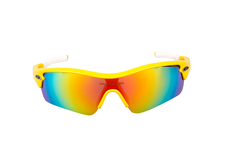 wholesale TR90 frame cycling glasses with 5 lens.