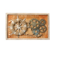 Creative Vintage Decorative Gear Anchor Wall decoration