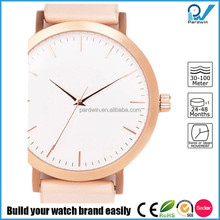 Chinese wholesale brand your own watches stainless steel back quartz quality women watches 2016