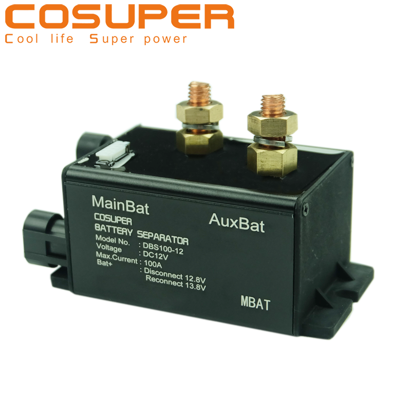 12//24V Waterproof Battery Separator 160A