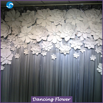 Wholesale Christmas Artificial Paper Flower Flower Wall Buy Flower