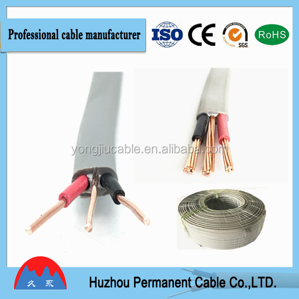 Flexible Flat Cable 2 Core 2*2.5mm Cu or CCA Conduct Cable