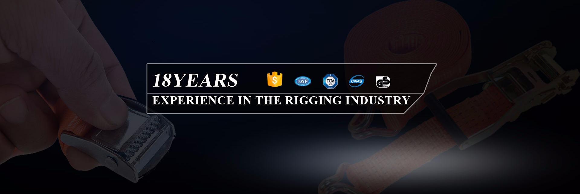 Hebei Jindingtianli Rigging Co., Ltd. - Webbing sling, Ratchet Strap