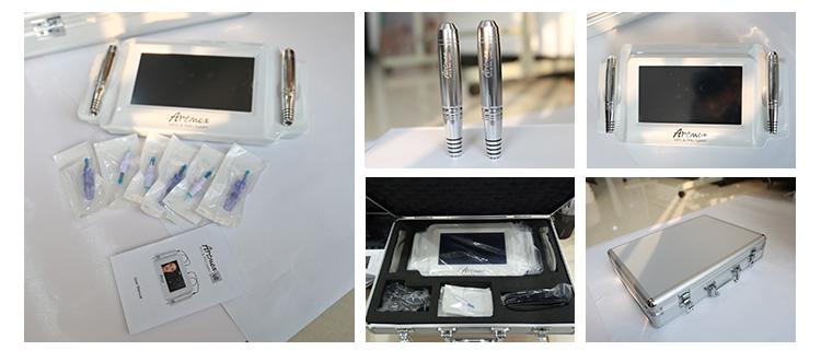 Artmex V8 digital make up permanente máquina caneta tatuagem cosméticos