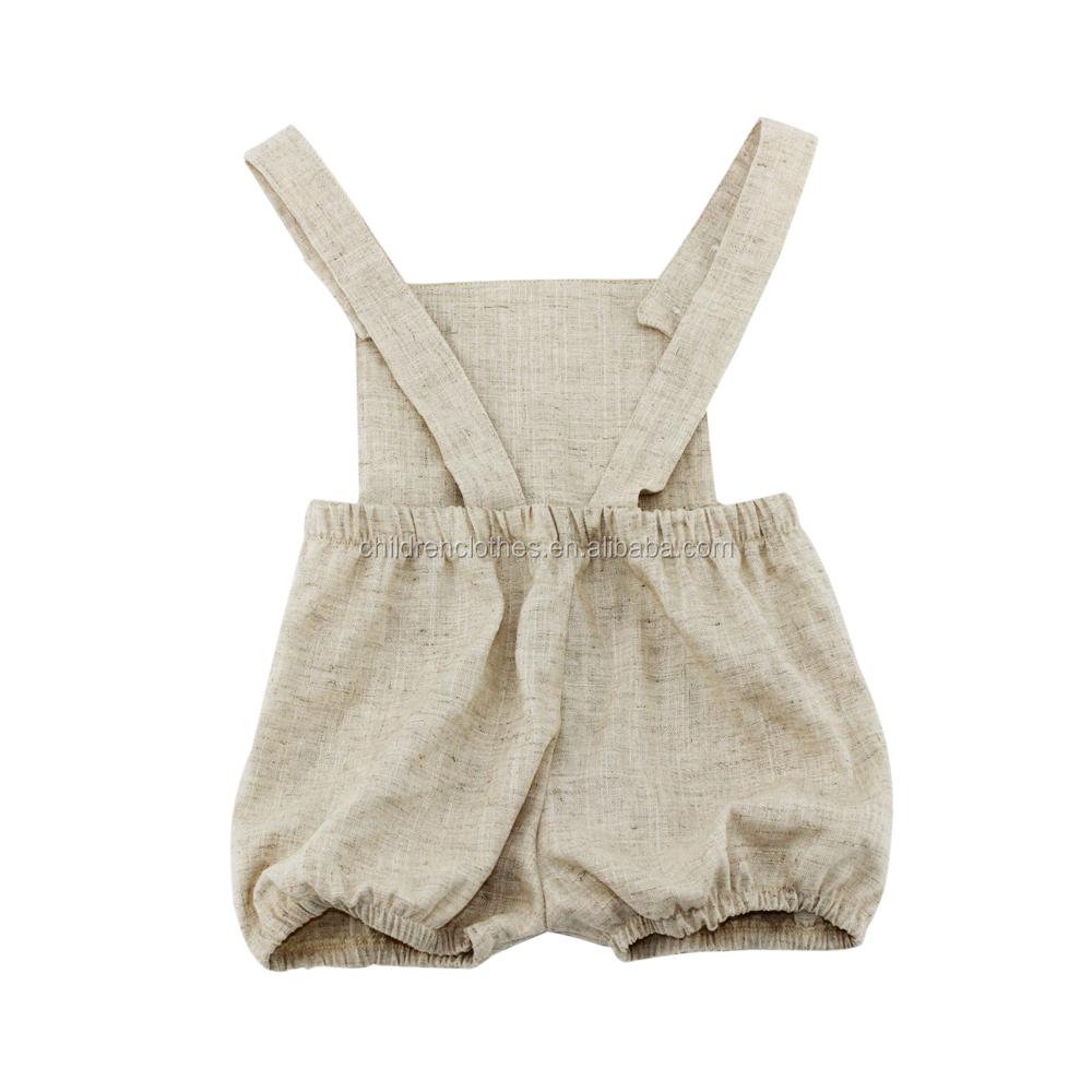 Wholesale Boutique Baby Clothing Plain Baby Romper
