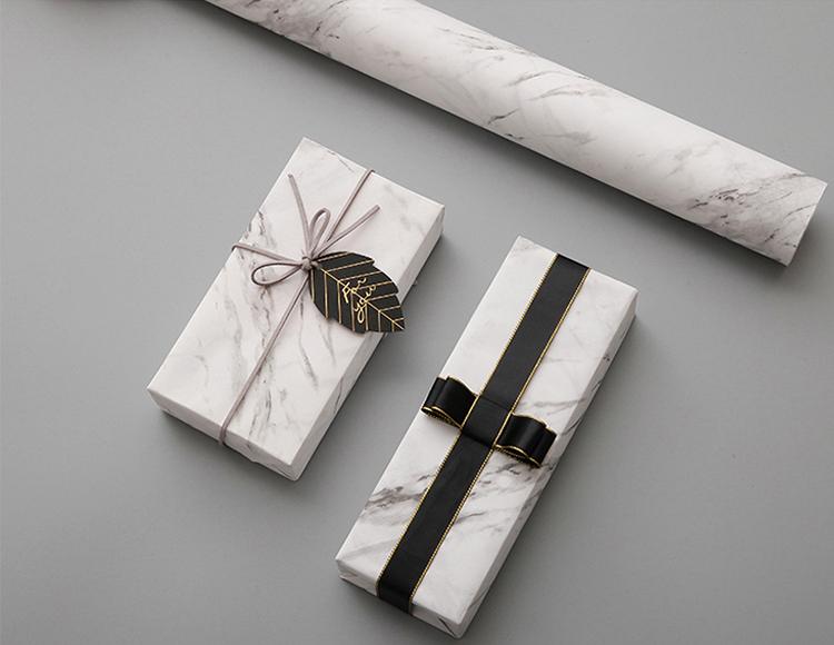 Cinese Produttore di Riciclo Coreano Personalizzato Regalo Scatola di Marmo Carta Da Imballaggio