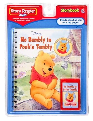Story Reader Disney Book and Cartridge: No Rumbly in Pooh's Tumbly by Disney