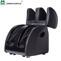 Foot Massager Machine with Heat kneading Shiatsu Leg Massager Air Pressure Air Bag Massager Electric