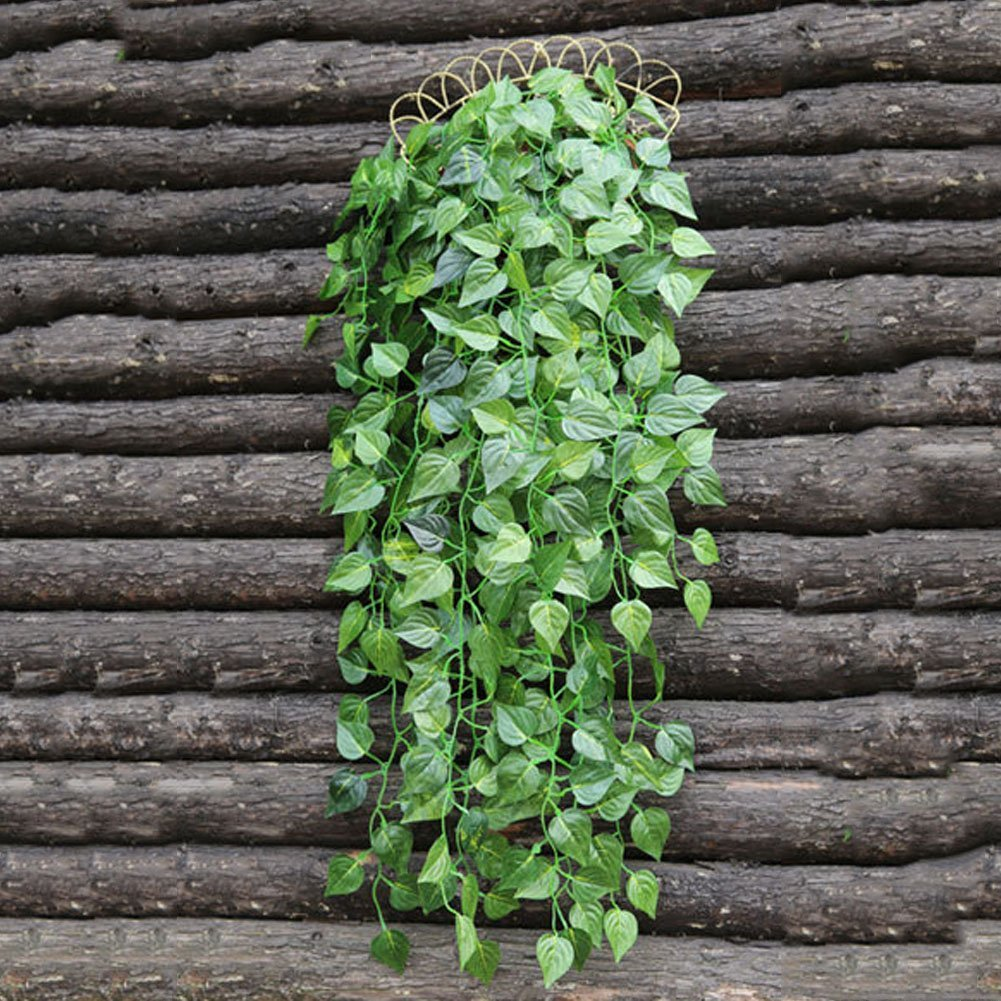 90cm Artificial Hanging Apple Vine Plant Leaves Garland Home Garden Wall Decoration