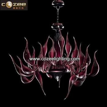 Luxe Italiaans Design Led Zwaan Venetiaanse Glas Hanglamp ...
