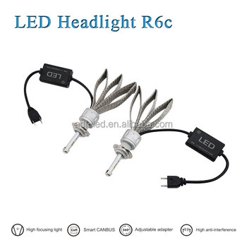 2017 Super bright h4 auto led headlight bulbs R6c with good price