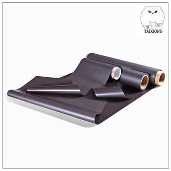 Top Sale Flexible Super Strong Customized Rubber Magnetic Sheet Roll 0.4mm