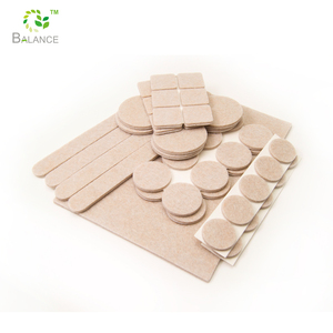 combination Heavy duty felt foot pads protect floor felt adhesive pad for furniture feet product