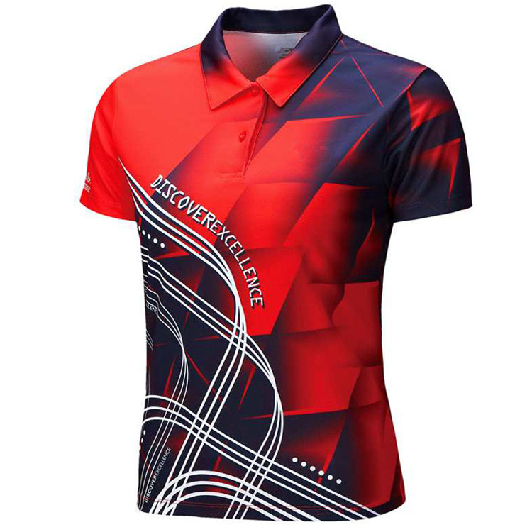 custom 160gsm polyester eyelet mesh jersey motorcycle racing male polo shirt(A938)