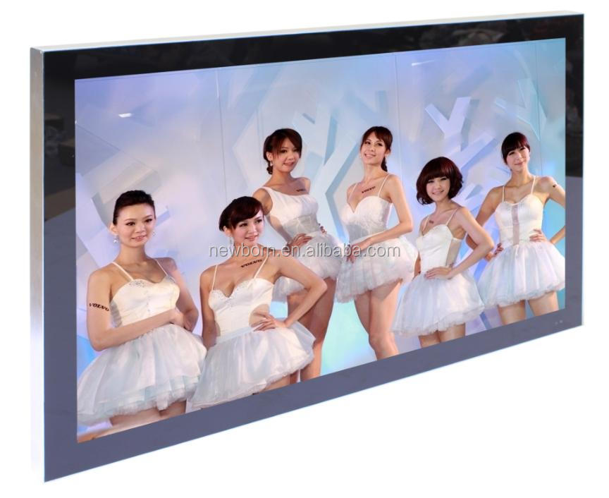 2016 New Style Large Size 3D 4K Smart WIFI Ultra Thin Slim 100 inch LED TV