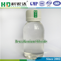 Water treatment chemical biocide purification Benzalkonium Chloride 80%